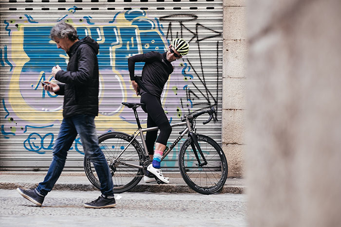 Moots Vamoots RSL Titanium road bike Sportful Fiandre