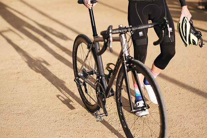 Moots Vamoots RSL Titanium road bike Sportful